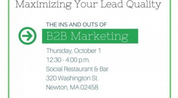Join inSegment at The Ins and Outs of B2B Marketing event header