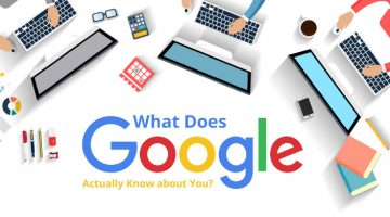 WHAT DOES GOOGLE ACTUALLY KNOW ABOUT YOU? cover image