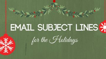 Email Subject Lines to Inspire Your Holiday Marketing header