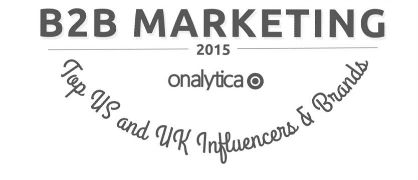 inSegment Named a Top 25 B2B Marketing Influencer