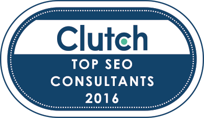 inSegment named Top SEO Consultant 2016 by Clutch