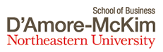 School of Business D'Amore-McKim Northeastern Univesity Logo