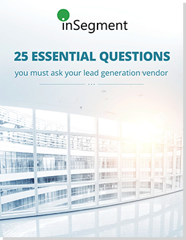 25 Essential Questions you must ask to your Lead Generation Vendor cover img