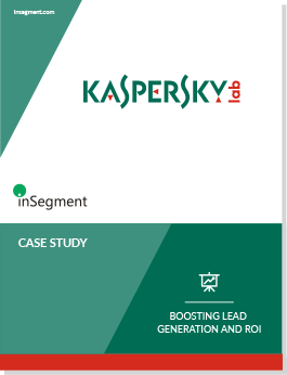 Kaspersky Case Study - Boosting Lead Generation and ROI cover image