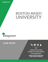 higher education marketing case study