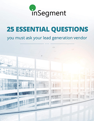 25 questions for lead generation vendors